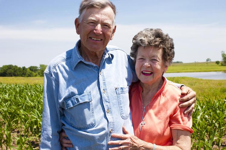 Hardworking Farm Couple Octagenarians Stand the Test of Time