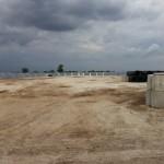 Outdoor Grain Storage Area
